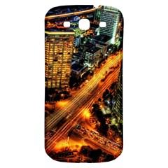 Hdri City Samsung Galaxy S3 S Iii Classic Hardshell Back Case by Onesevenart