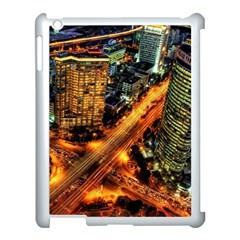 Hdri City Apple Ipad 3/4 Case (white) by Onesevenart
