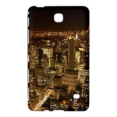 New York City At Night Future City Night Samsung Galaxy Tab 4 (8 ) Hardshell Case  by Onesevenart