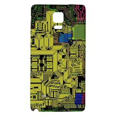 Technology Circuit Board Galaxy Note 4 Back Case by Onesevenart