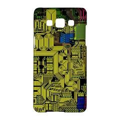 Technology Circuit Board Samsung Galaxy A5 Hardshell Case  by Onesevenart