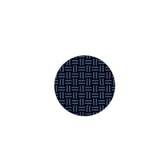 Woven1 Black Marble & Blue Denim 1  Mini Magnet by trendistuff