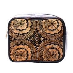 The Art Of Batik Printing Mini Toiletries Bags by Onesevenart