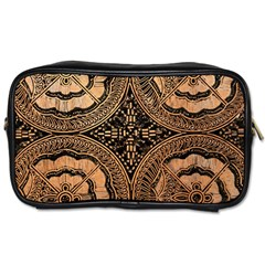 The Art Of Batik Printing Toiletries Bags by Onesevenart