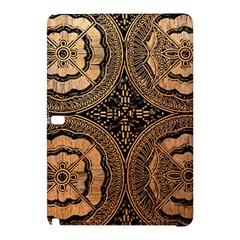 The Art Of Batik Printing Samsung Galaxy Tab Pro 12 2 Hardshell Case by Onesevenart