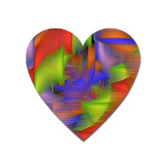 Texture Pattern Programming Processing Heart Magnet by Onesevenart