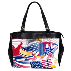 United States Of America Usa  Images Independence Day Office Handbags (2 Sides)  by Onesevenart