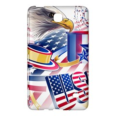 United States Of America Usa  Images Independence Day Samsung Galaxy Tab 4 (8 ) Hardshell Case  by Onesevenart