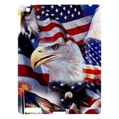 United States Of America Images Independence Day Apple Ipad 3/4 Hardshell Case by Onesevenart