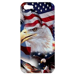 United States Of America Images Independence Day Apple Iphone 5 Hardshell Case by Onesevenart