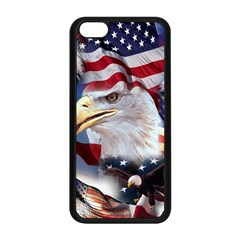 United States Of America Images Independence Day Apple Iphone 5c Seamless Case (black) by Onesevenart
