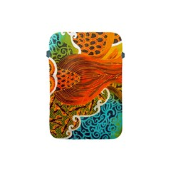 The Beautiful Of Art Indonesian Batik Pattern Apple Ipad Mini Protective Soft Cases by Onesevenart