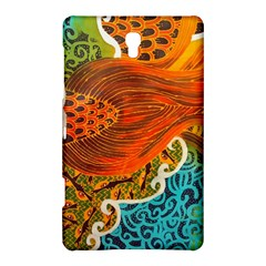 The Beautiful Of Art Indonesian Batik Pattern Samsung Galaxy Tab S (8 4 ) Hardshell Case  by Onesevenart