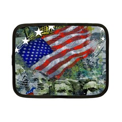 Usa United States Of America Images Independence Day Netbook Case (small)  by Onesevenart