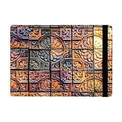 Wooden Blocks Detail Ipad Mini 2 Flip Cases by Onesevenart