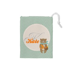 baer Drawstring Pouch (Small) by makeunique