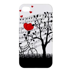 Love Song Apple Iphone 4/4s Hardshell Case by Valentinaart