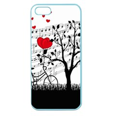 Love Song Apple Seamless Iphone 5 Case (color) by Valentinaart