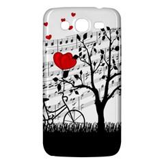 Love Song Samsung Galaxy Mega 5 8 I9152 Hardshell Case  by Valentinaart