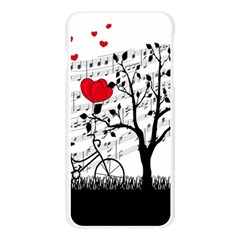 Love song Apple Seamless iPhone 6 Plus/6S Plus Case (Transparent) by Valentinaart
