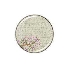 Cherry Blossom Hat Clip Ball Marker (4 Pack) by Valentinaart