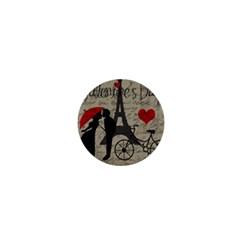 Love Letter   Paris 1  Mini Buttons by Valentinaart