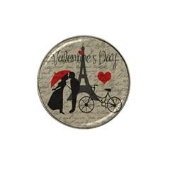 Love Letter   Paris Hat Clip Ball Marker (4 Pack) by Valentinaart