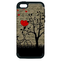Love Letter Apple Iphone 5 Hardshell Case (pc+silicone) by Valentinaart