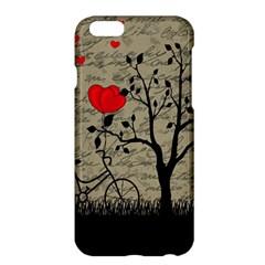 Love letter Apple iPhone 6 Plus/6S Plus Hardshell Case by Valentinaart