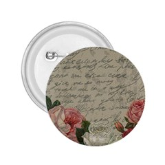 Vintage Roses 2 25  Buttons by Valentinaart