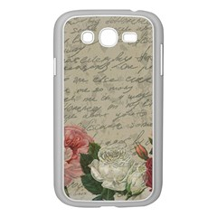 Vintage Roses Samsung Galaxy Grand Duos I9082 Case (white) by Valentinaart