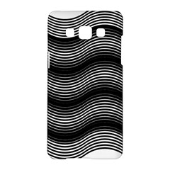 Two Layers Consisting Of Curves With Identical Inclination Patterns Samsung Galaxy A5 Hardshell Case  by Simbadda