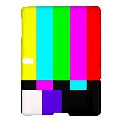 Color Bars & Tones Samsung Galaxy Tab S (10 5 ) Hardshell Case  by Simbadda
