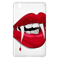 Mouth Jaw Teeth Vampire Blood Samsung Galaxy Tab Pro 8 4 Hardshell Case