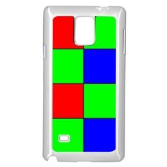 Bayer Pattern Samsung Galaxy Note 4 Case (white)