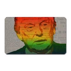 Rainbow Trump  Magnet (rectangular) by Valentinaart