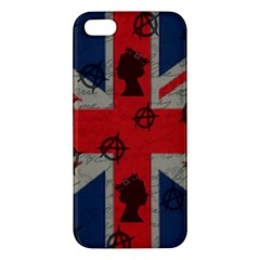 United Kingdom  Iphone 5s/ Se Premium Hardshell Case by Valentinaart