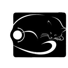 Cat Black Vector Minimalism Kindle Fire Hdx 8 9  Flip 360 Case by Simbadda