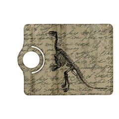 Dinosaur Skeleton Kindle Fire Hd (2013) Flip 360 Case by Valentinaart