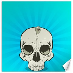 Skull Ball Line Schedule Canvas 20  x 20   by Simbadda