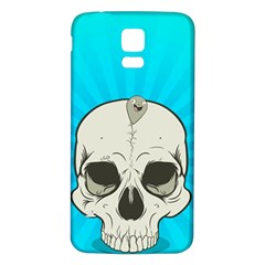 Skull Ball Line Schedule Samsung Galaxy S5 Back Case (white) by Simbadda