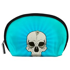 Skull Ball Line Schedule Accessory Pouches (Large)  by Simbadda