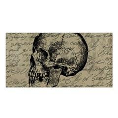 Skull Satin Shawl by Valentinaart