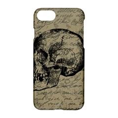 Skull Apple Iphone 7 Hardshell Case by Valentinaart