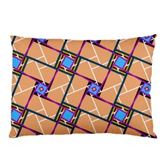 Overlaid Patterns Pillow Case by Simbadda