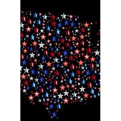 America Usa Map Stars Vector  5 5  X 8 5  Notebooks by Simbadda