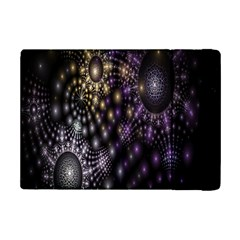 Fractal Patterns Dark Circles Ipad Mini 2 Flip Cases by Simbadda