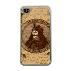 Count Vlad Dracula Apple Iphone 4 Case (clear) by Valentinaart