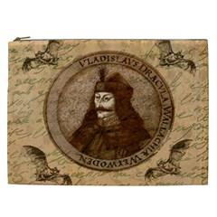Count Vlad Dracula Cosmetic Bag (xxl)  by Valentinaart