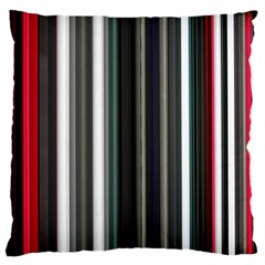 Miracle Mile Pattern Large Flano Cushion Case (one Side) by Simbadda